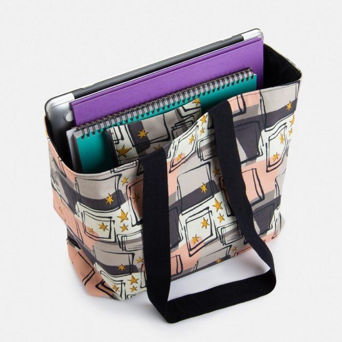 mid century style laptop bag