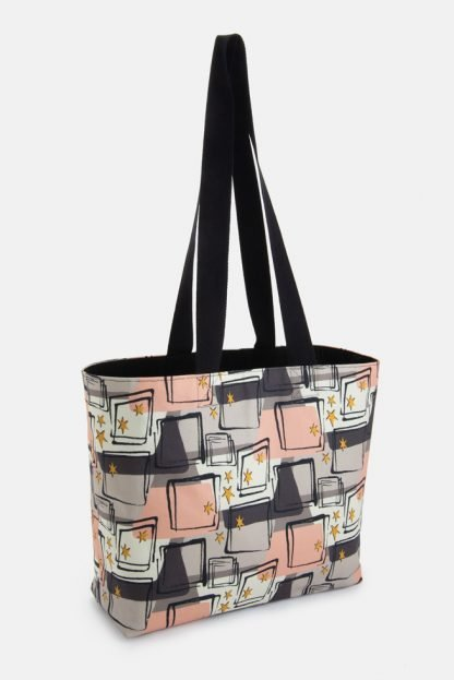 retro 50s style swimming gym bag