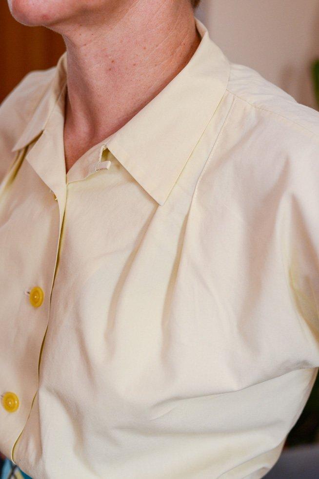 Homemade 50s blouse