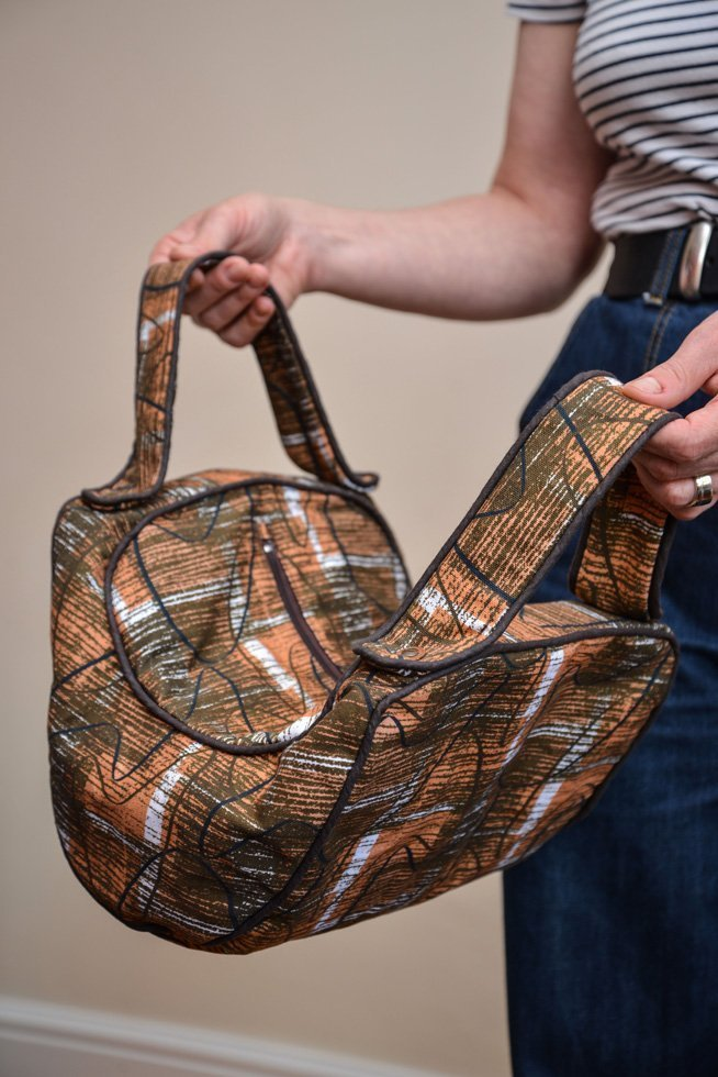 50s hand made bag