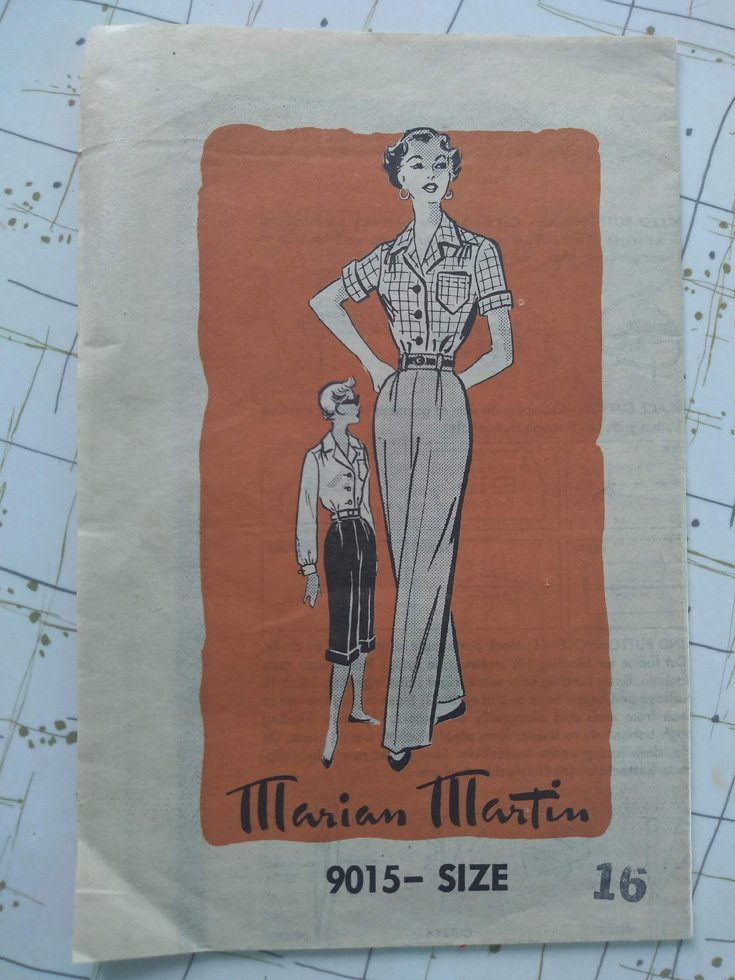 Marian Martin 9015 pattern