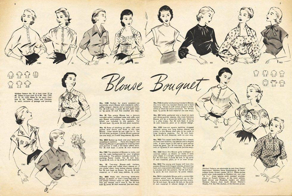 1950s vintage blouse