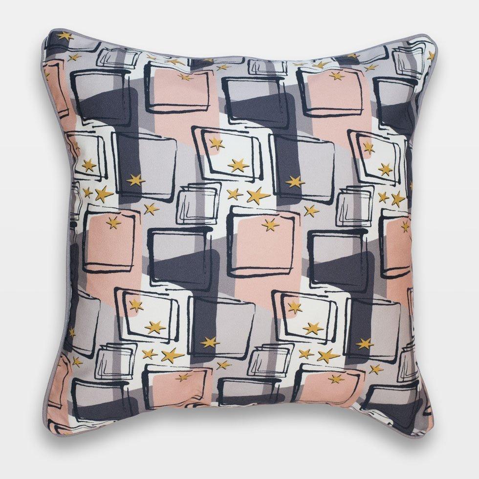 starlight retro atomic 50s cushion