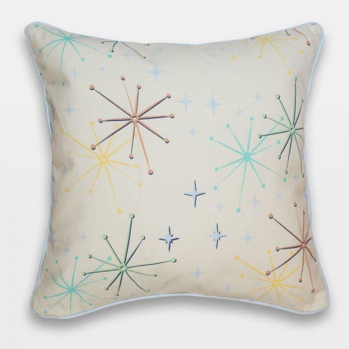 telstar retro atomic 50s cushion