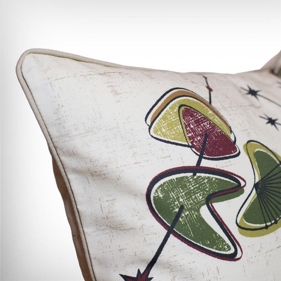 ventura retro atomic 50s cushion