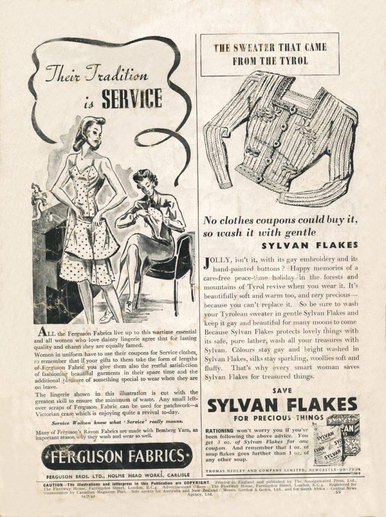 Sylvan flakes ad