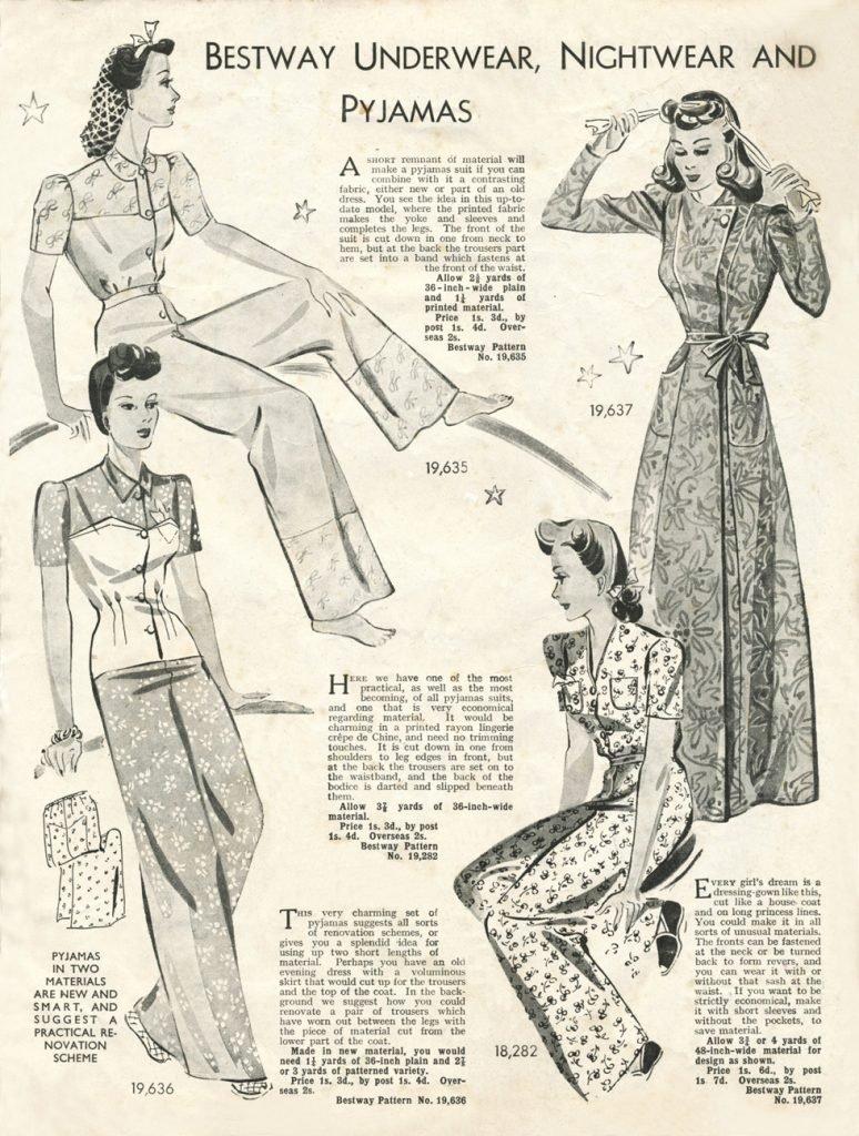 Bestway underwear nightwear and pyjamas