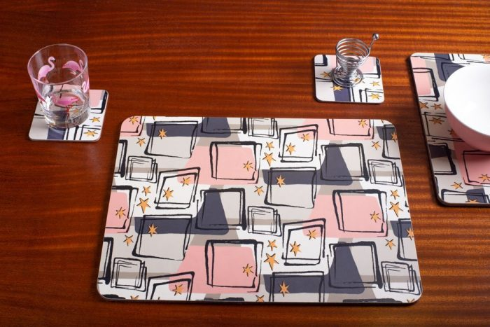 midcentury modern serving mat
