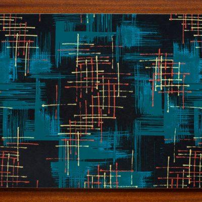 mid century modern serving mat