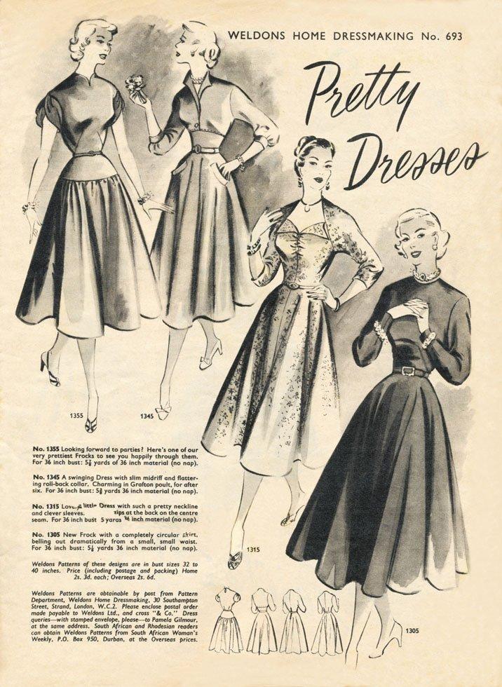 Weldons home dressmaking No 693