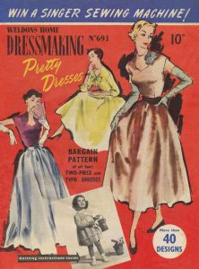 Weldons Home Dressmaking Magazine No. 693