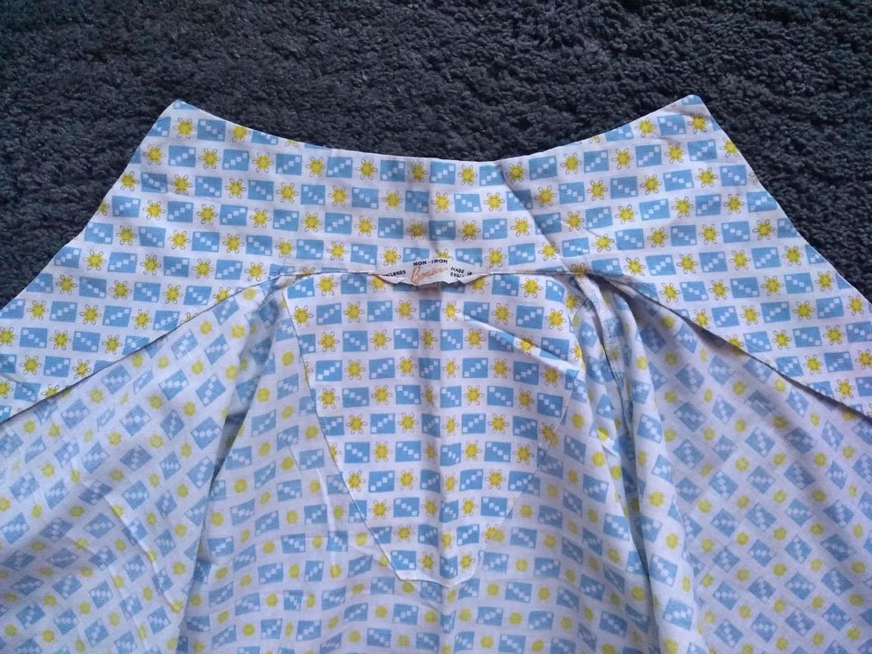 1960s blouse fabric