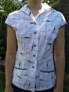 How I created a pattern from a garment and enlarged it too!