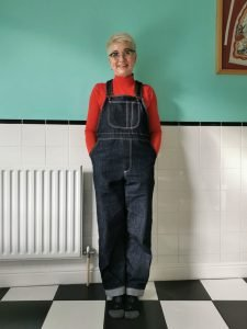 Home Made Kwik Sew K3897 Dungarees