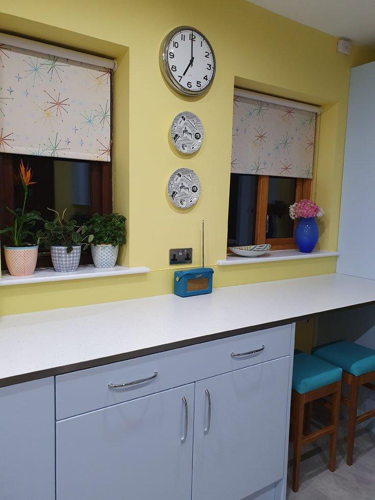 retro 1950s kitchen