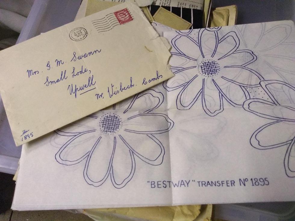 hand written envelope