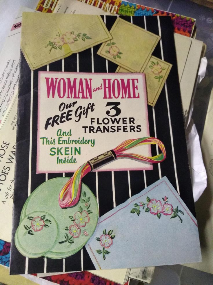 Vintage Woman and Home magazine