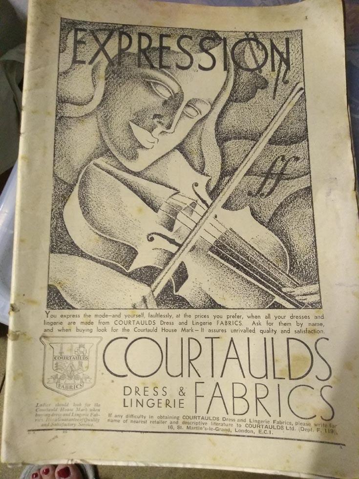 courtaulds fabrics advert