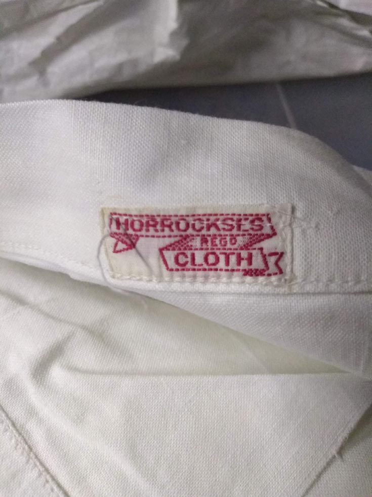 Horrockses label