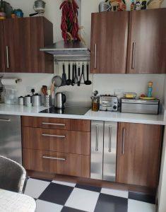 Mid century kitchen renovation