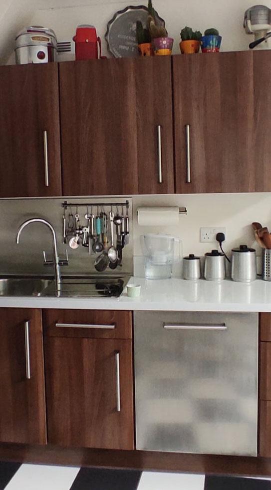 mid century kitchen cupboards